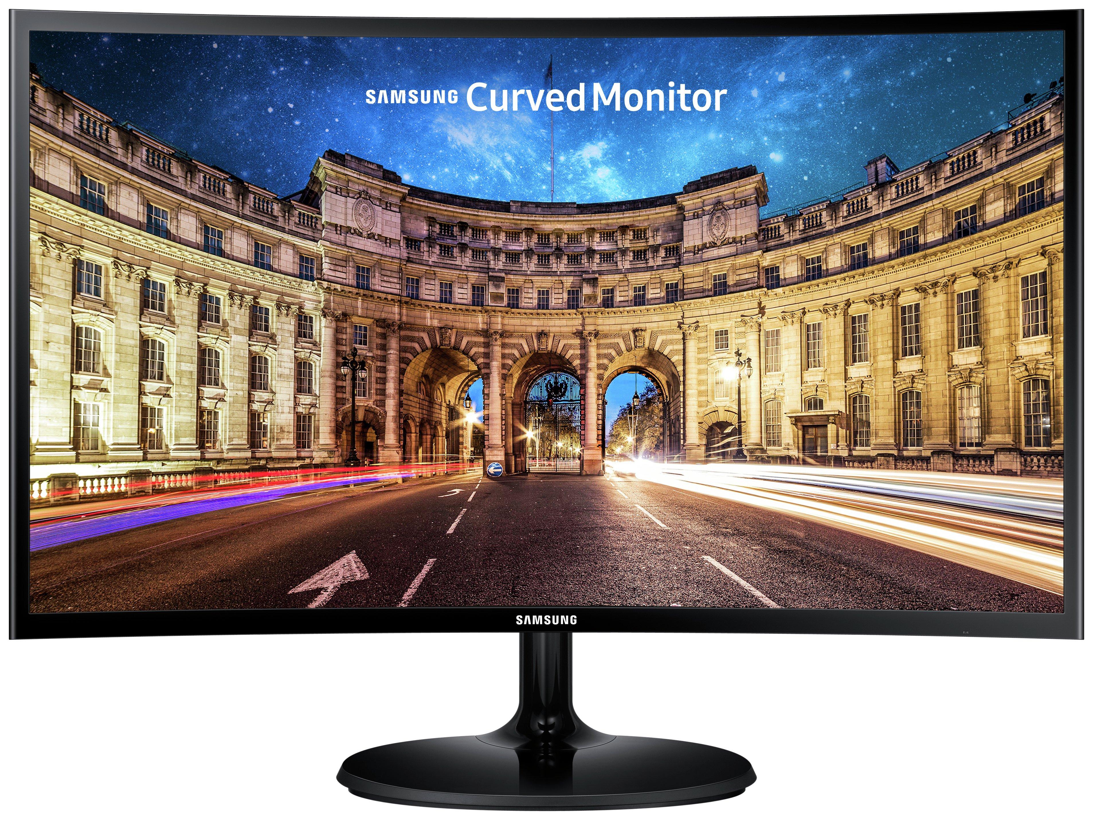 Samsung Samsung C27F390 27 Inch Curved Monitor - Black.