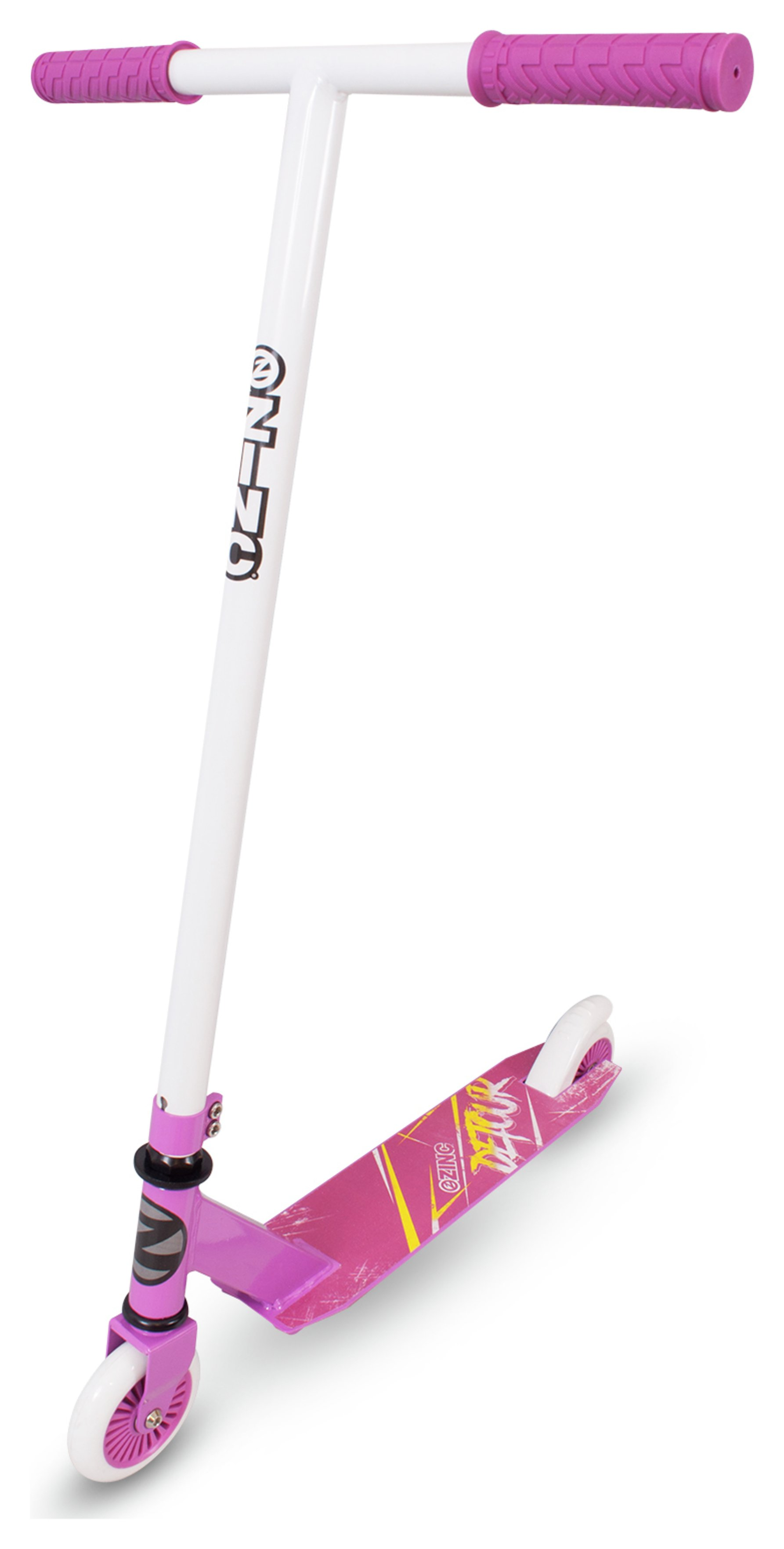 Zinc Detour Stunt Scooter - Pink and White