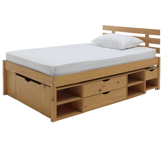 Buy Argos Home Ultimate Storage II Double Bed Frame | Bed frames | Argos