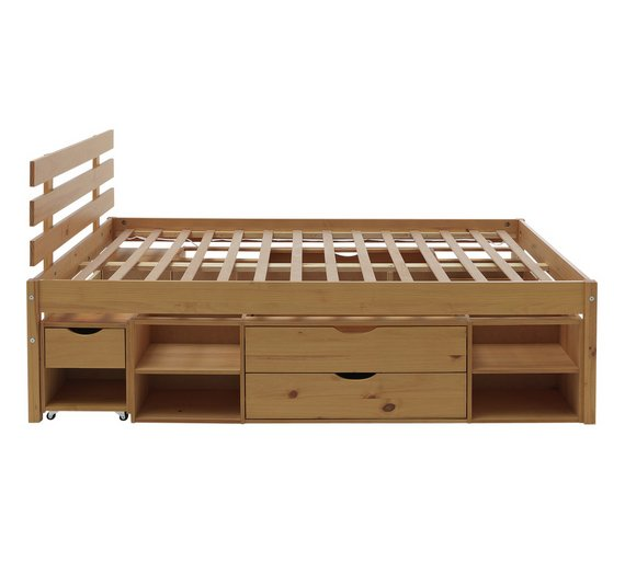 click to zoom - Double Bed Frame With Storage