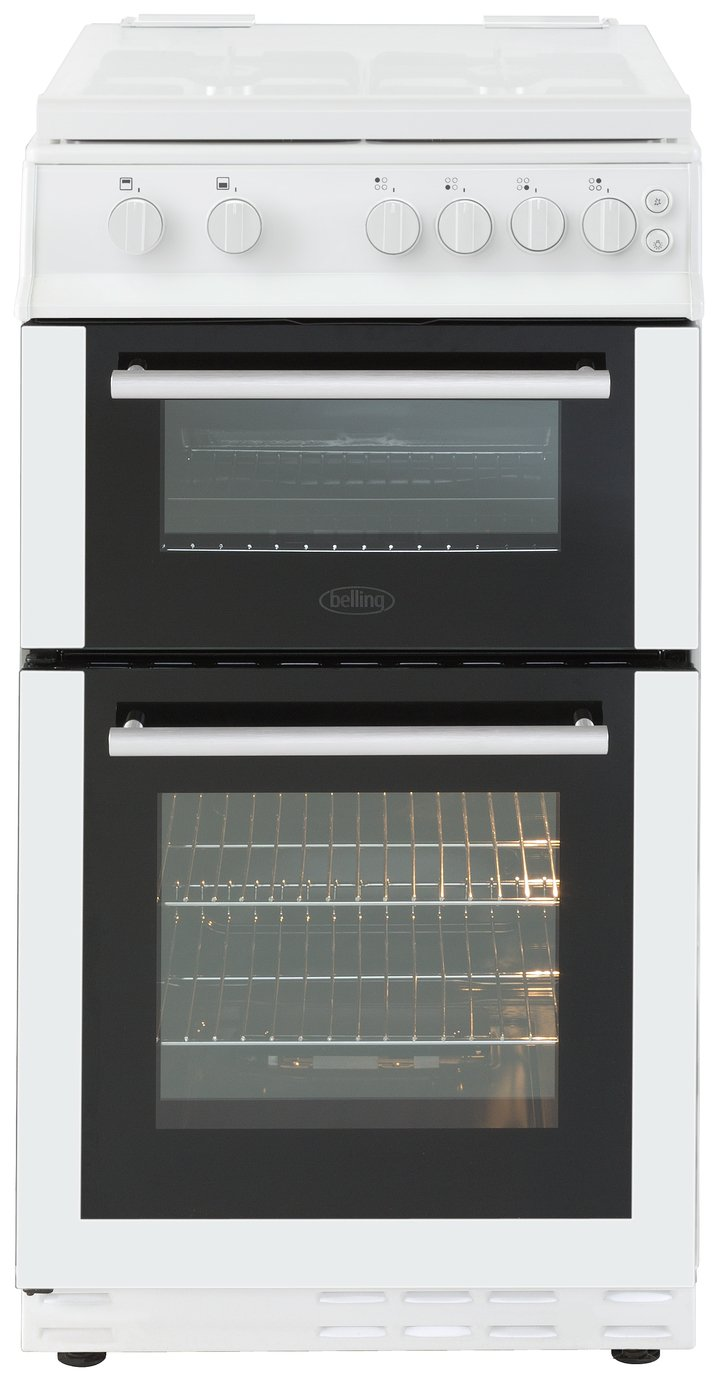 Belling - FS50GTCL - Gas Cooker - White/Ins/Del/Rec
