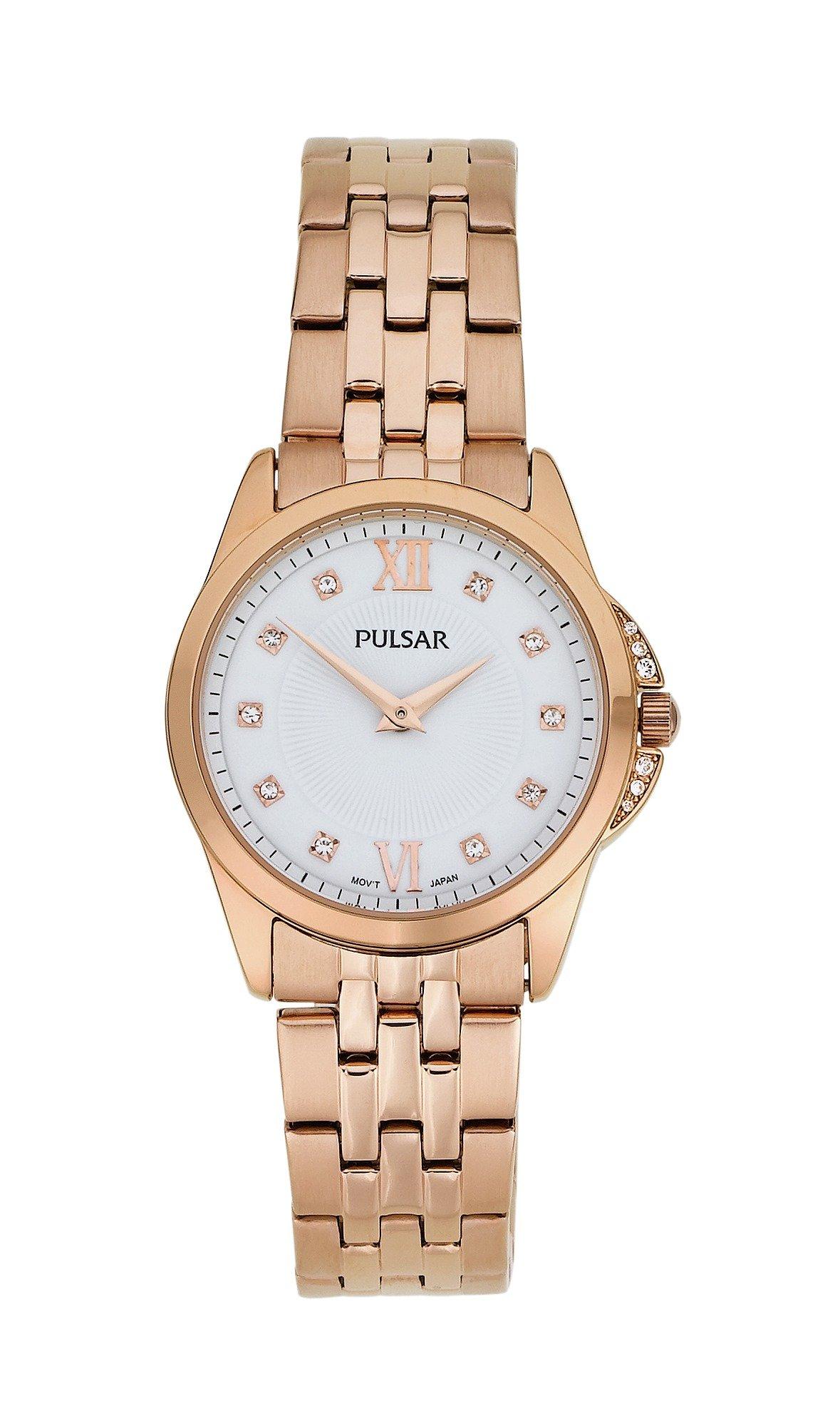 buy pulsar gold plated bracelet at