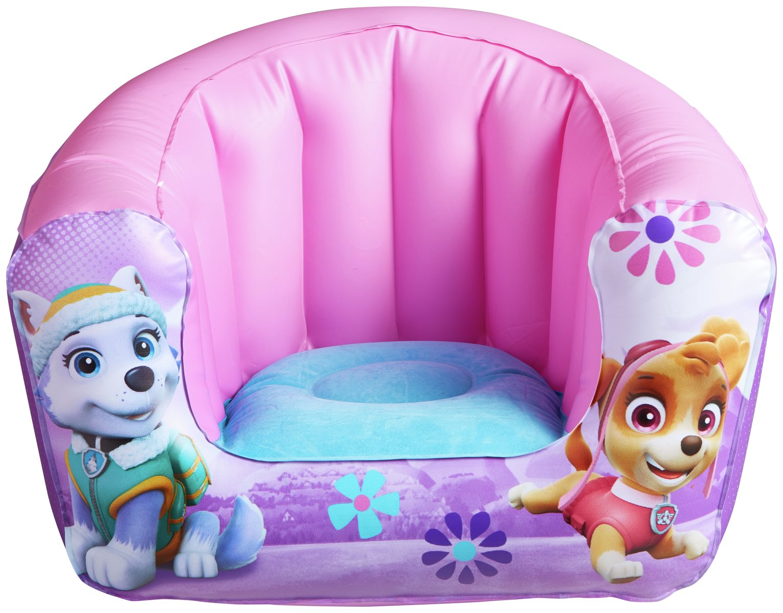 PAW Patrol Flocked Chair - Skye/Everest
