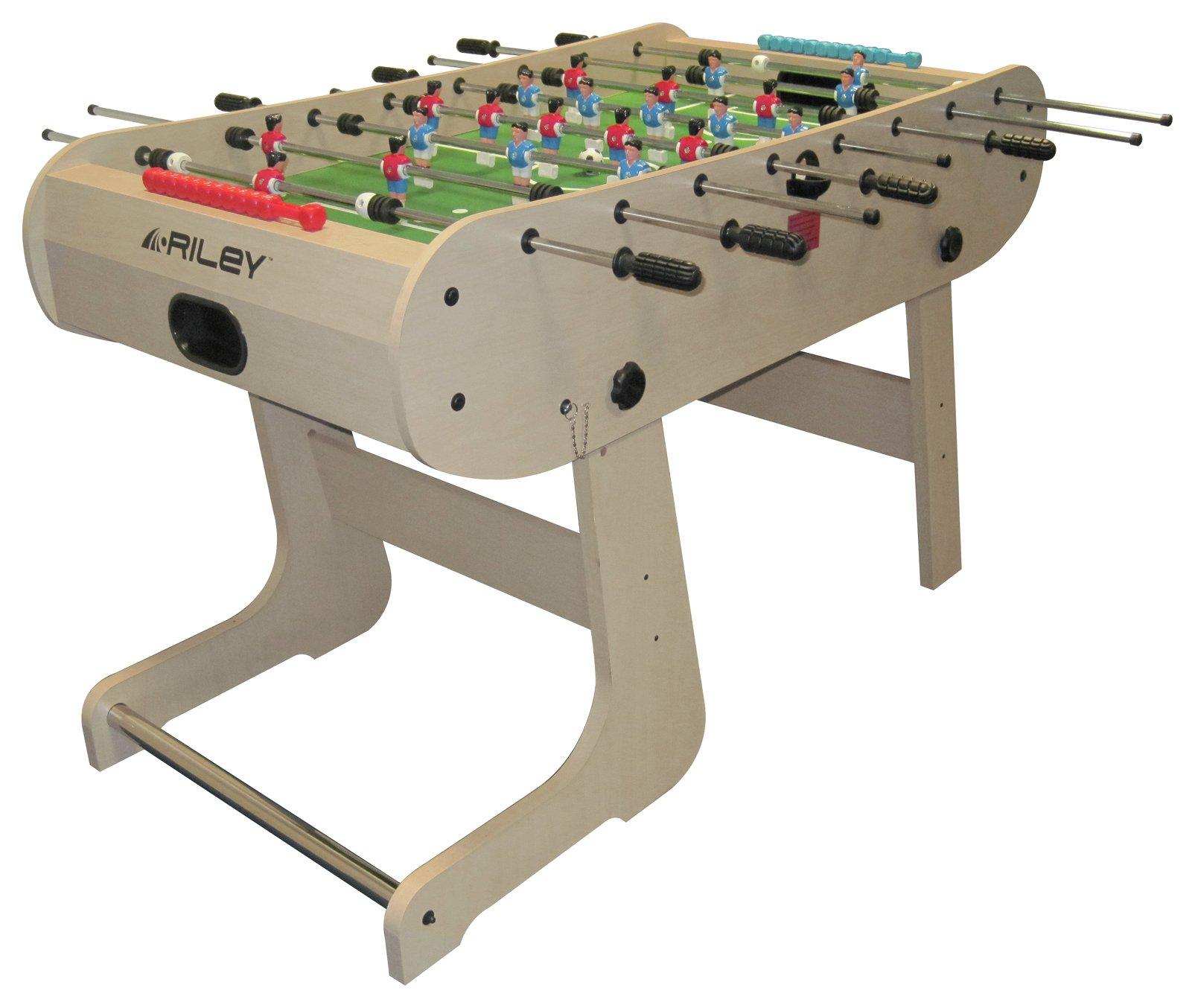 Riley 4`6 inch Folding Football Table.