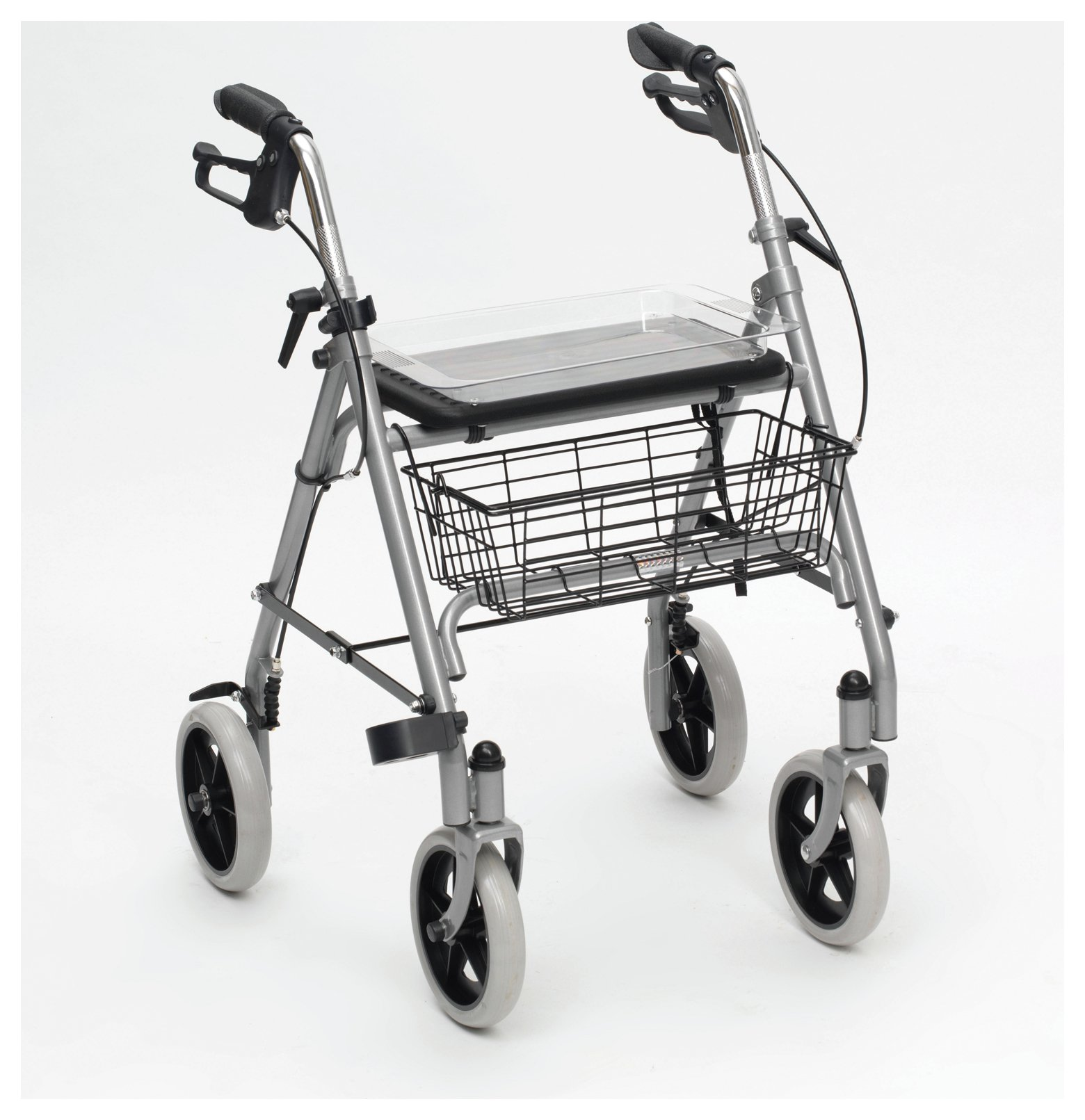 822383233239 Upc Rollator Walker With Fold Up And