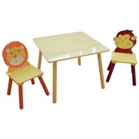 Liberty Houe Jungle Nursery Table and 2 Chairs