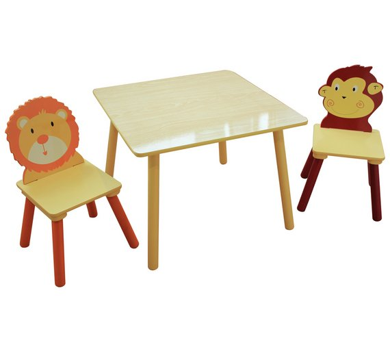 Buy Liberty Houe Jungle Nursery Table And Chairs At Argoscouk - Nursery tables and chairs