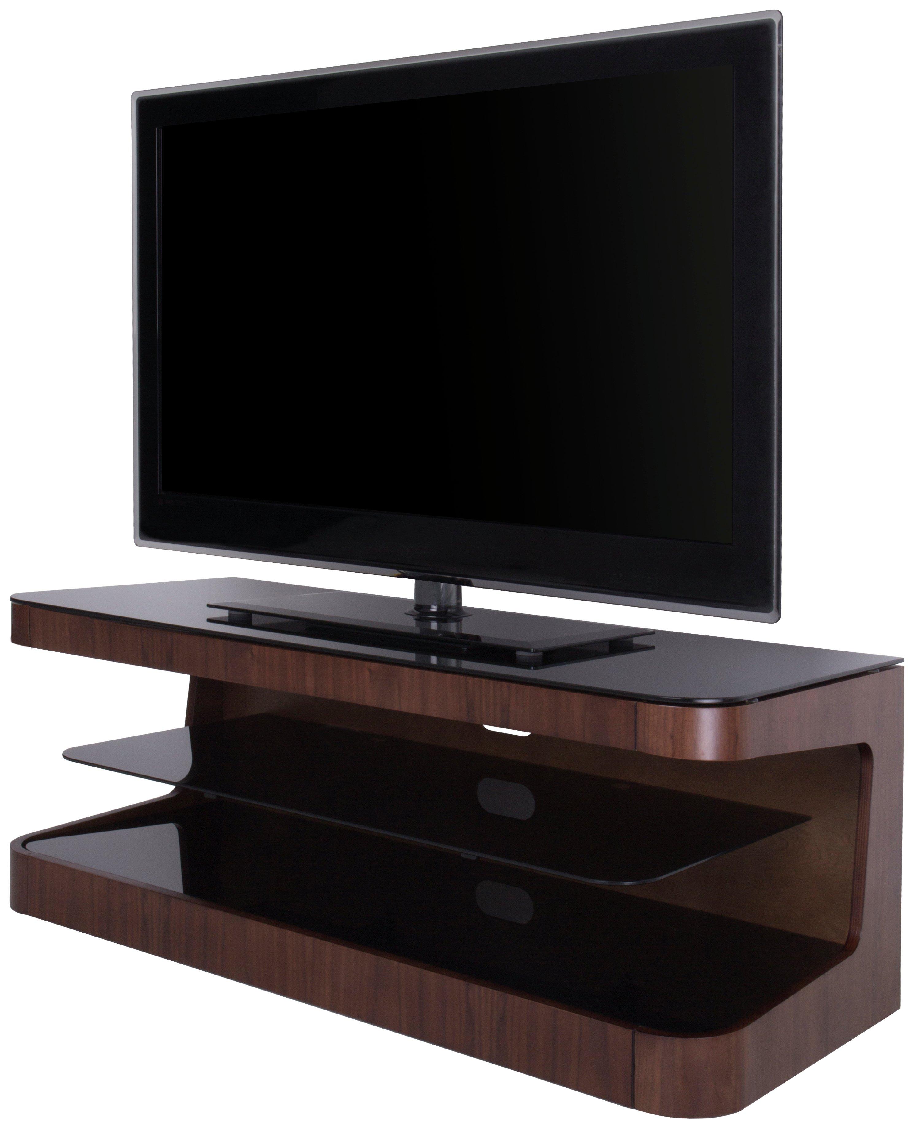 AVF Up to 55 Inch Wood TV Stand - Walnut