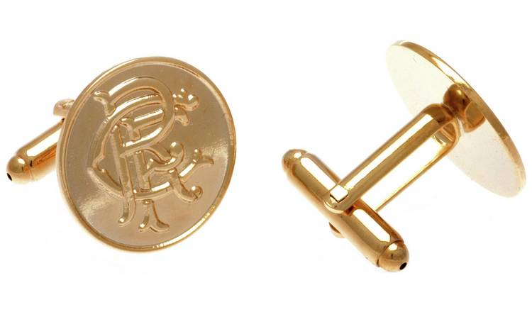 Gold Plated Rangers Cufflinks.