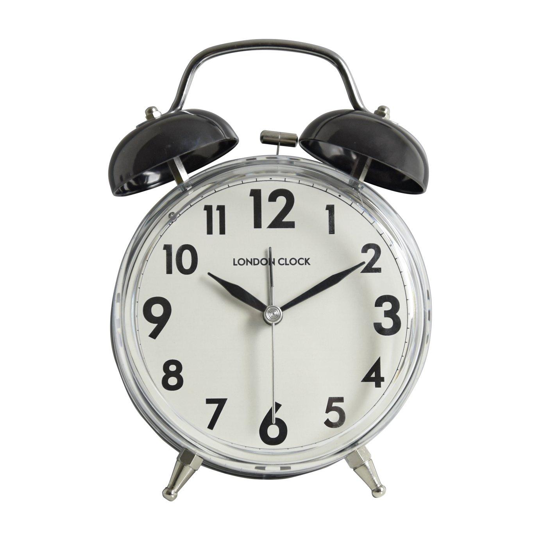 Black Kitchen Clock Argos: LC Twin Bell Alarm Clock