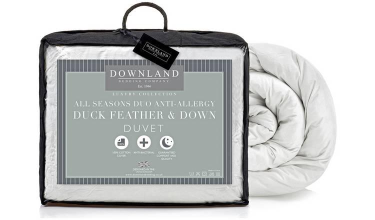 0f2060dc235 Buy Downland Duck Feather Down Anti-Allergy 15 Tog Duvet - Dbl ...