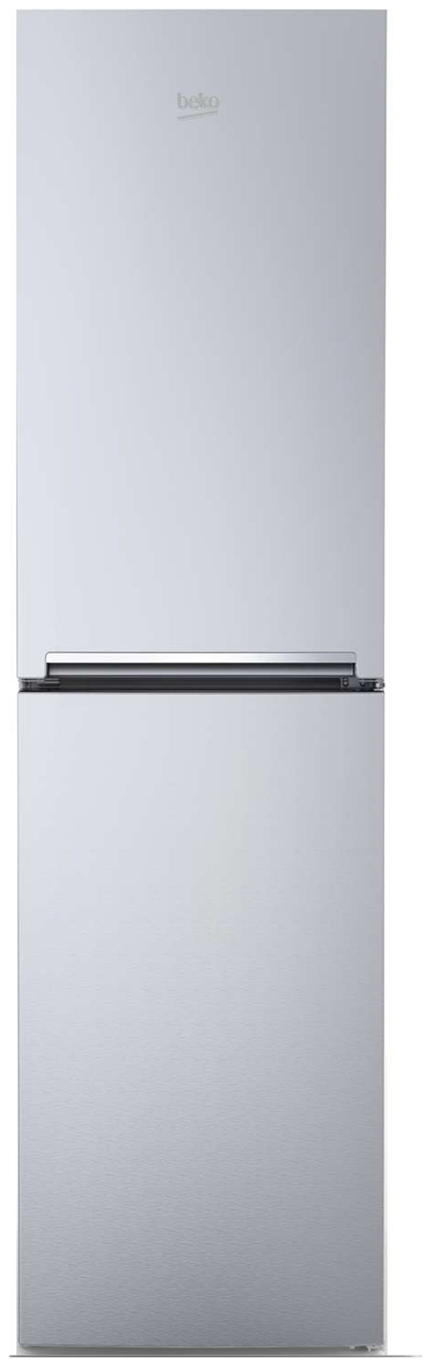 Beko CFG1582S Fridge Freezer - Silver Best Price, Cheapest Prices