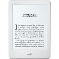 Amazon - Kindle - 2016 Wi-Fi Touch E-Reader - White.