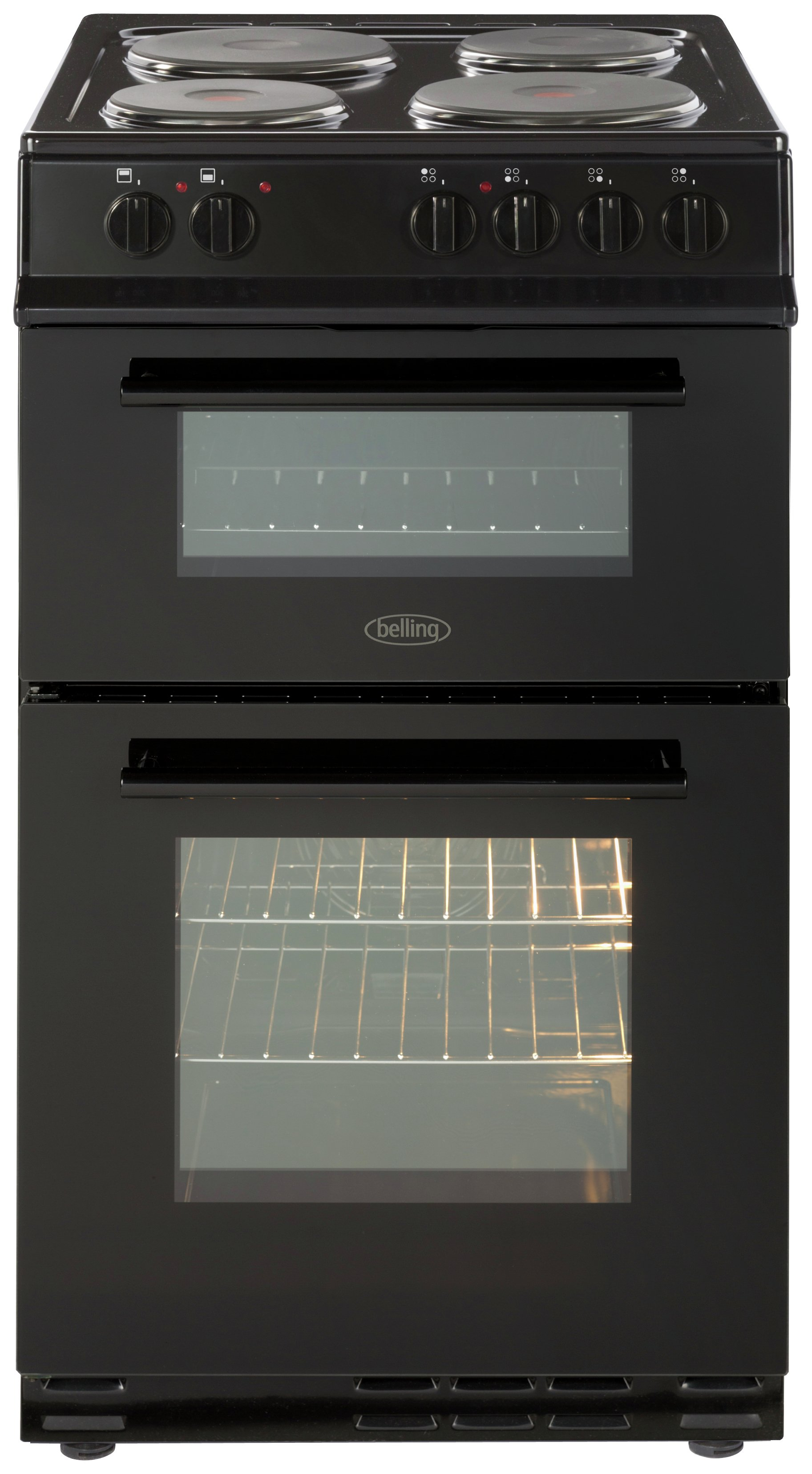 Belling - FS50EFDO - Electric Cooker - Black