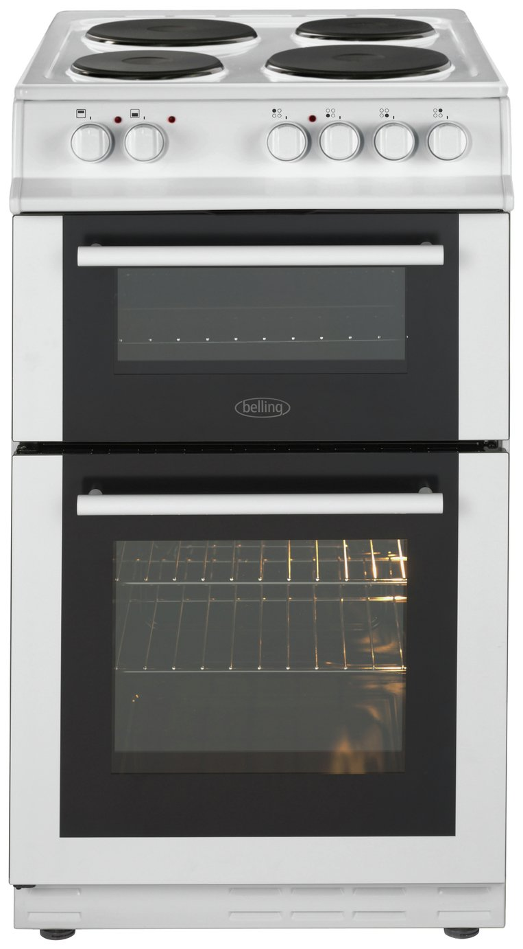 Belling - FS50EFDO - Electric Cooker - White