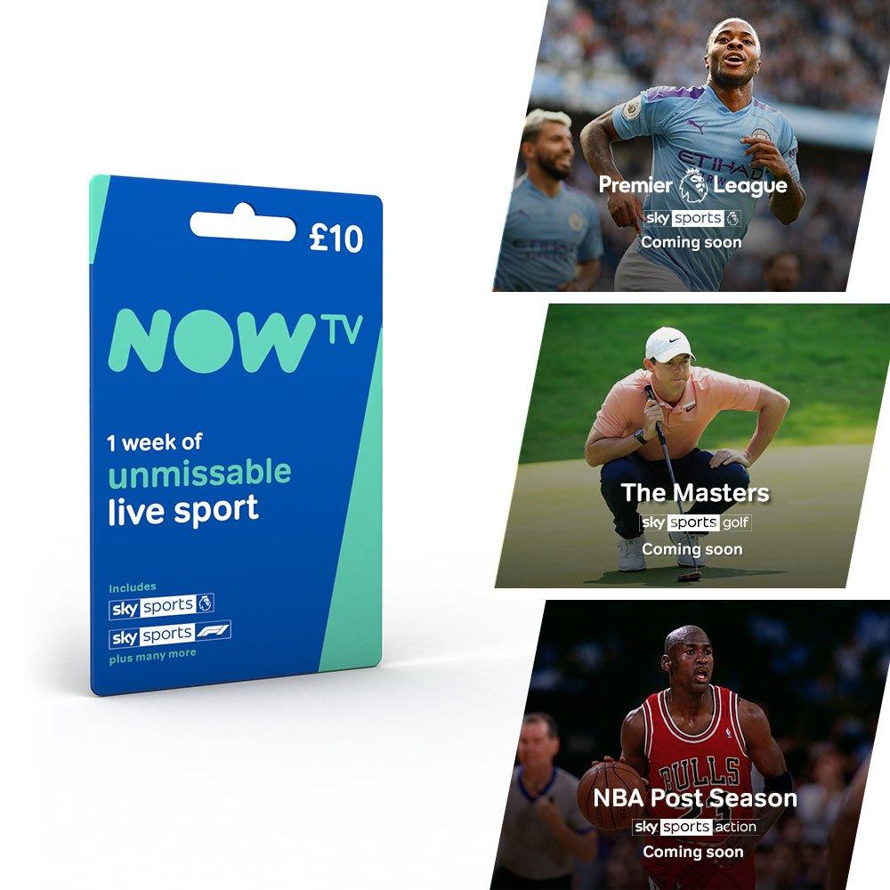 Now TV Card 1 Week Sky Sports Pass