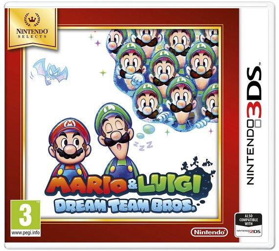 buy mario and luigi dream team nintendo selects 3ds game nintendo