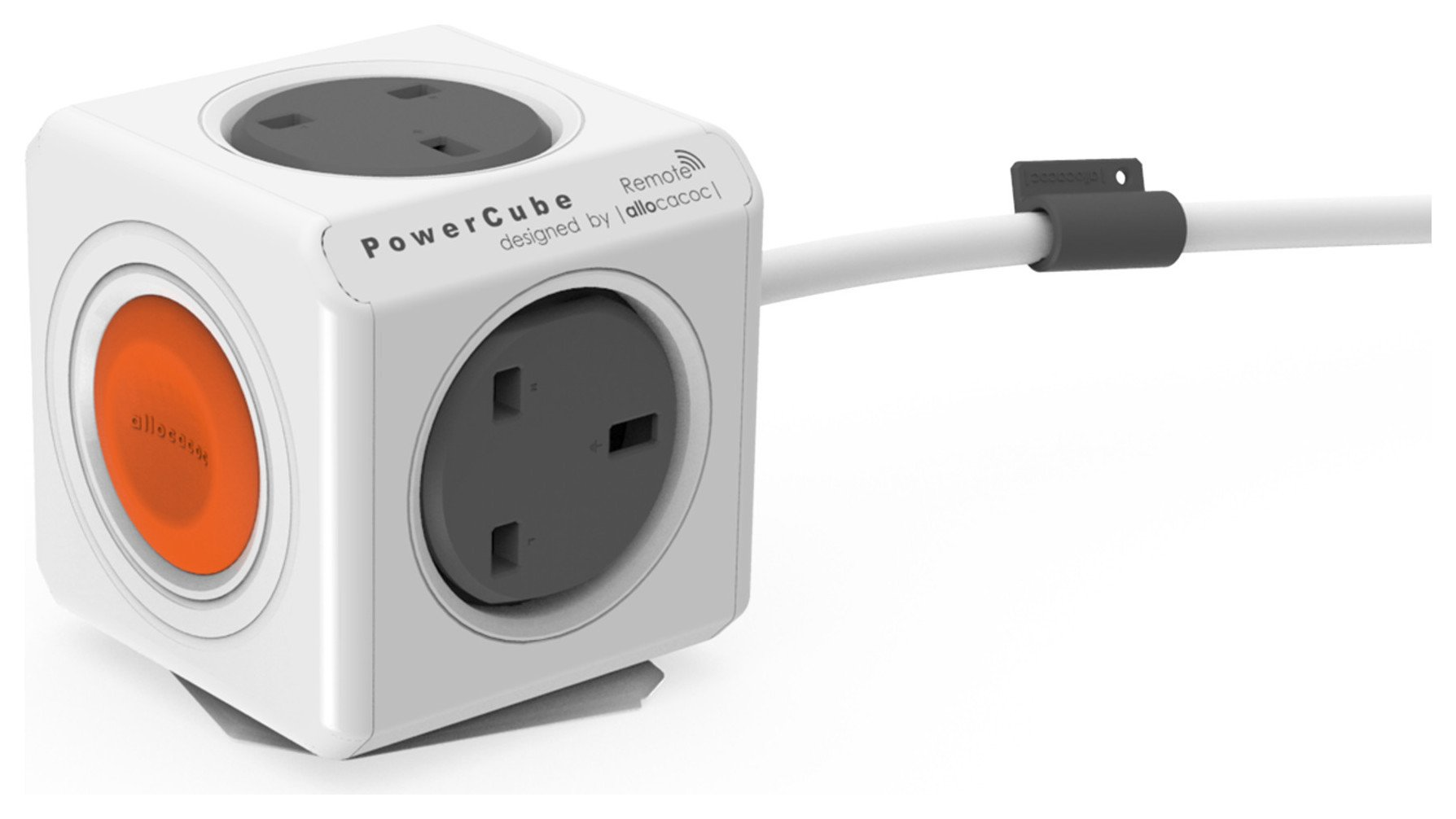 Image of Allocacoc - PowerCube Extended Remote - Socket Only