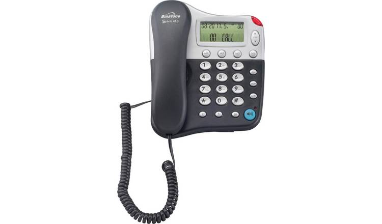 Binatone 410 Spirit Corded Telephone - Single