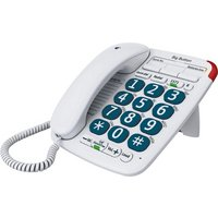 BT - Big Button 200 - Corded Desk Telephone - Single