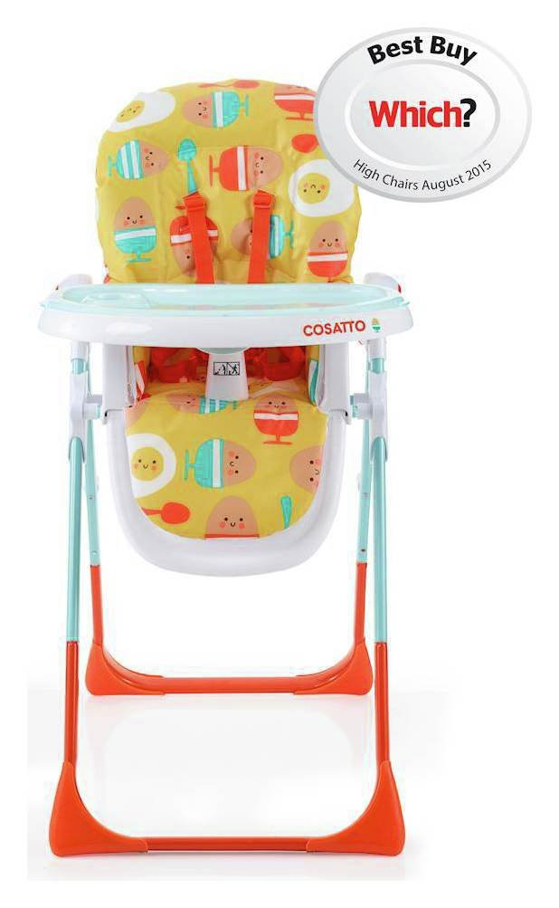 Cosatto Noodle Supa Highchair Egg and Spoon