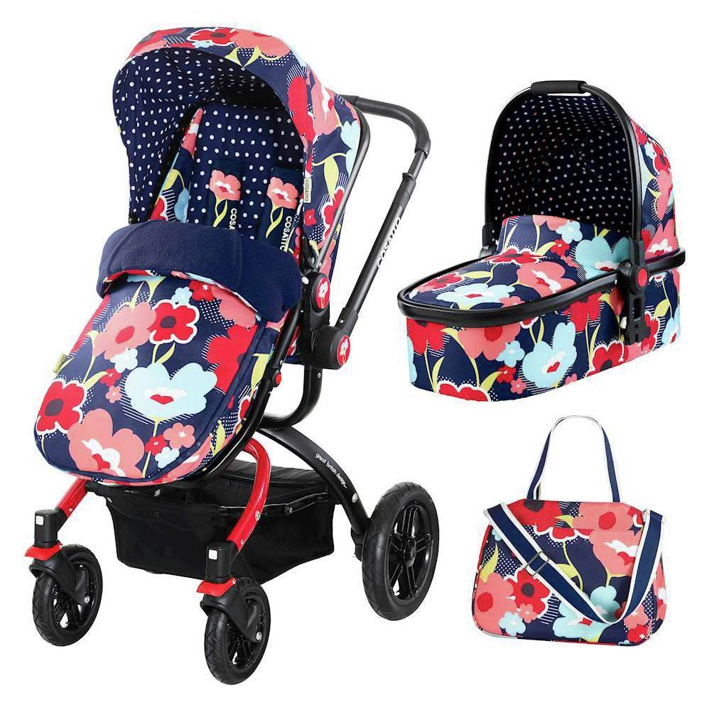 Image of Cosatto Ooba Travel System - Propper Poppy.
