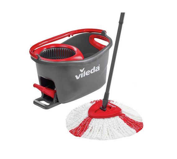 Buy Vileda Easy Wring And Clean Turbo Mop And Bucket Set Mops