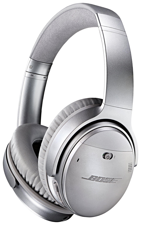 Image of Bose - QuietComfort 35 Wireless Headphones - Silver