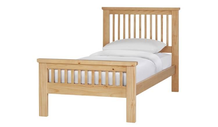 Argos Home Ashby Single Bed Frame Sky Blue