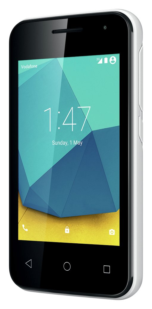 Vodafone Vodafone Smart First 7 Mobile Phone - White.