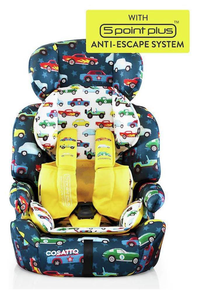 Cosatto Zoomi Group 1/2/3 Rev Up Car Seat - Multicoloured