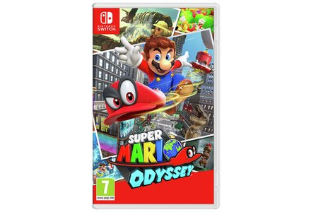Super Mario Odyssey is out 27th October, only on Nintendo Switch