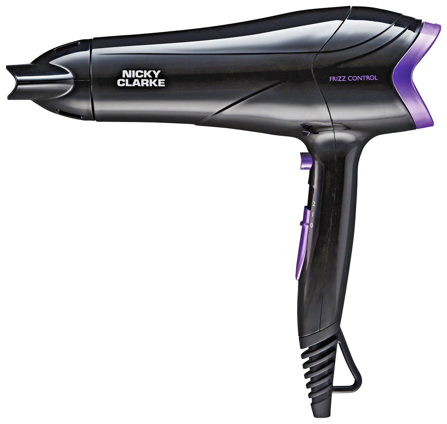 Nicky Clarke Frizz Control Lightweight Hair Dryer