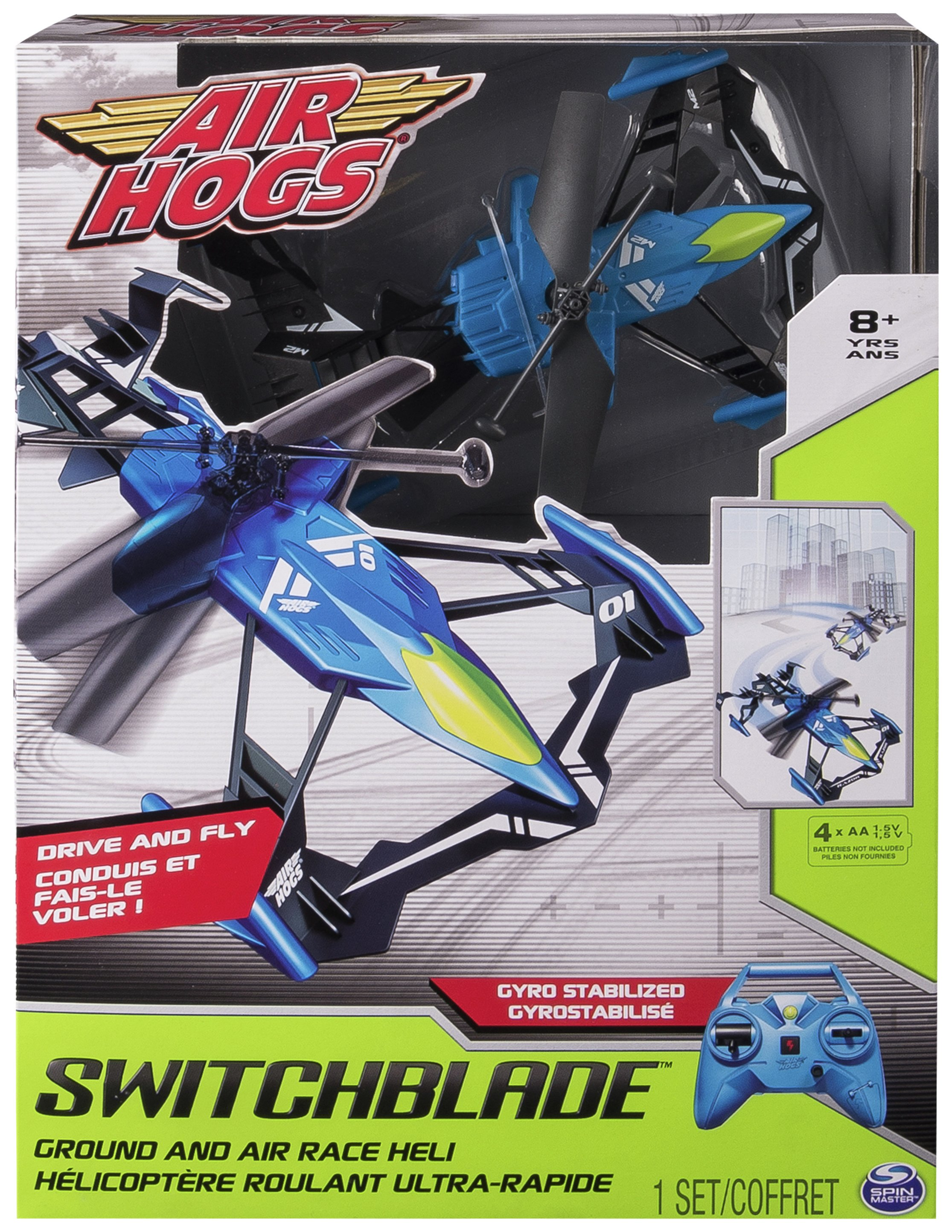 Image of Radio Controlled Air Hogs Switchblade