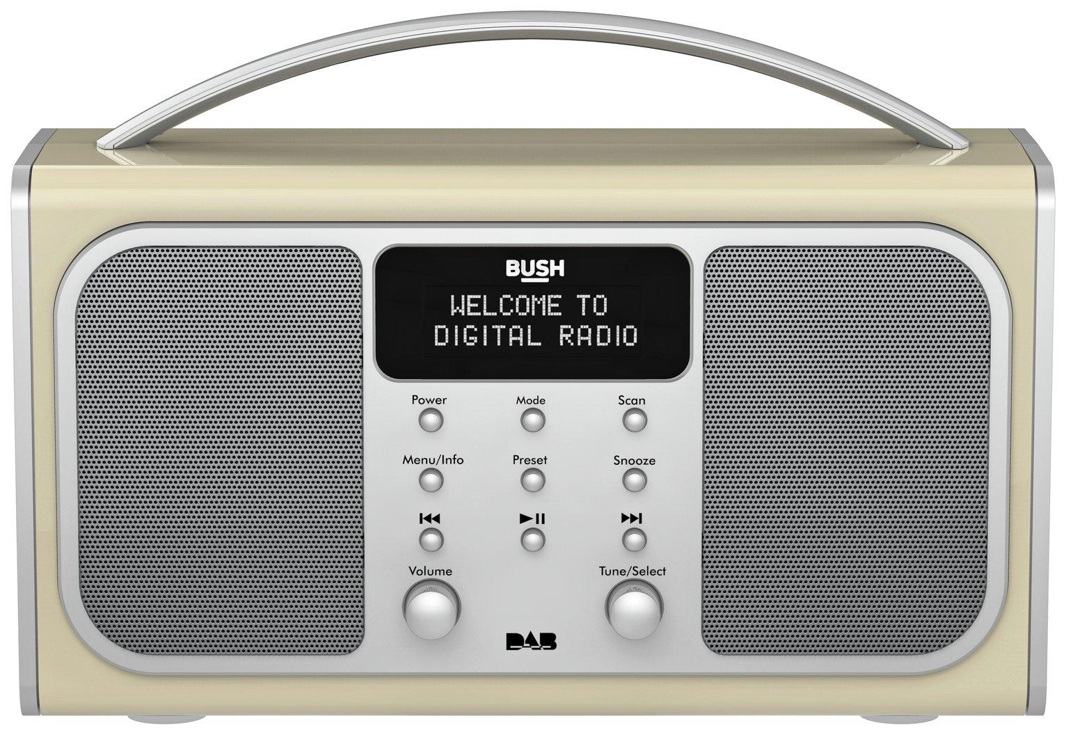 bush dab radio alarm instructions