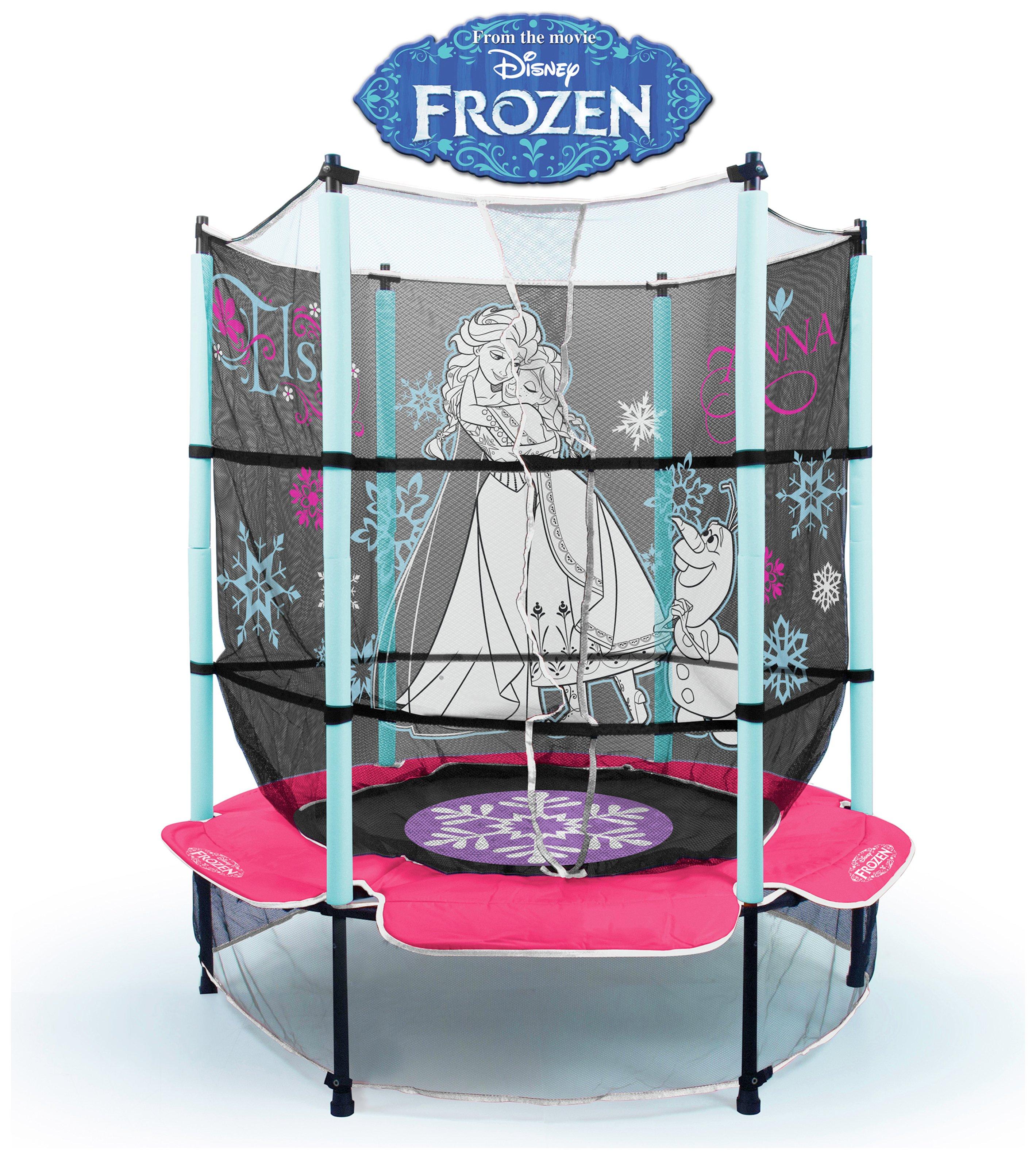 Image of Frozen Trampoline.