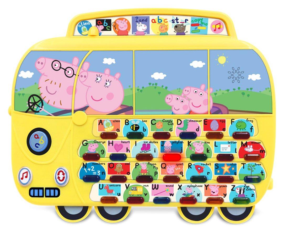 Peppa Pig Campervan Alphaphonic Board