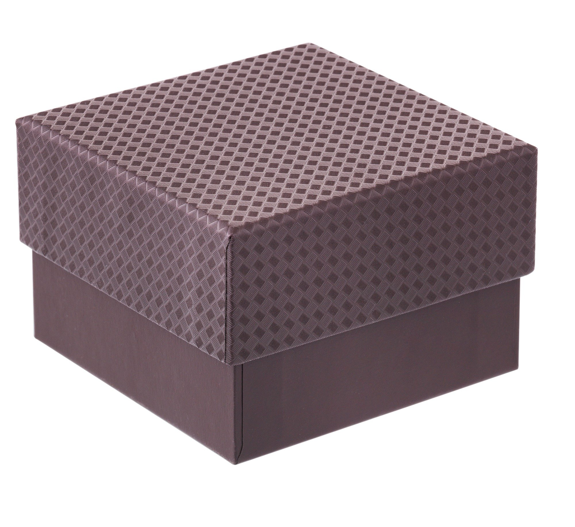 Chocolate Brown Small Gift Box with Internal Black Fitment