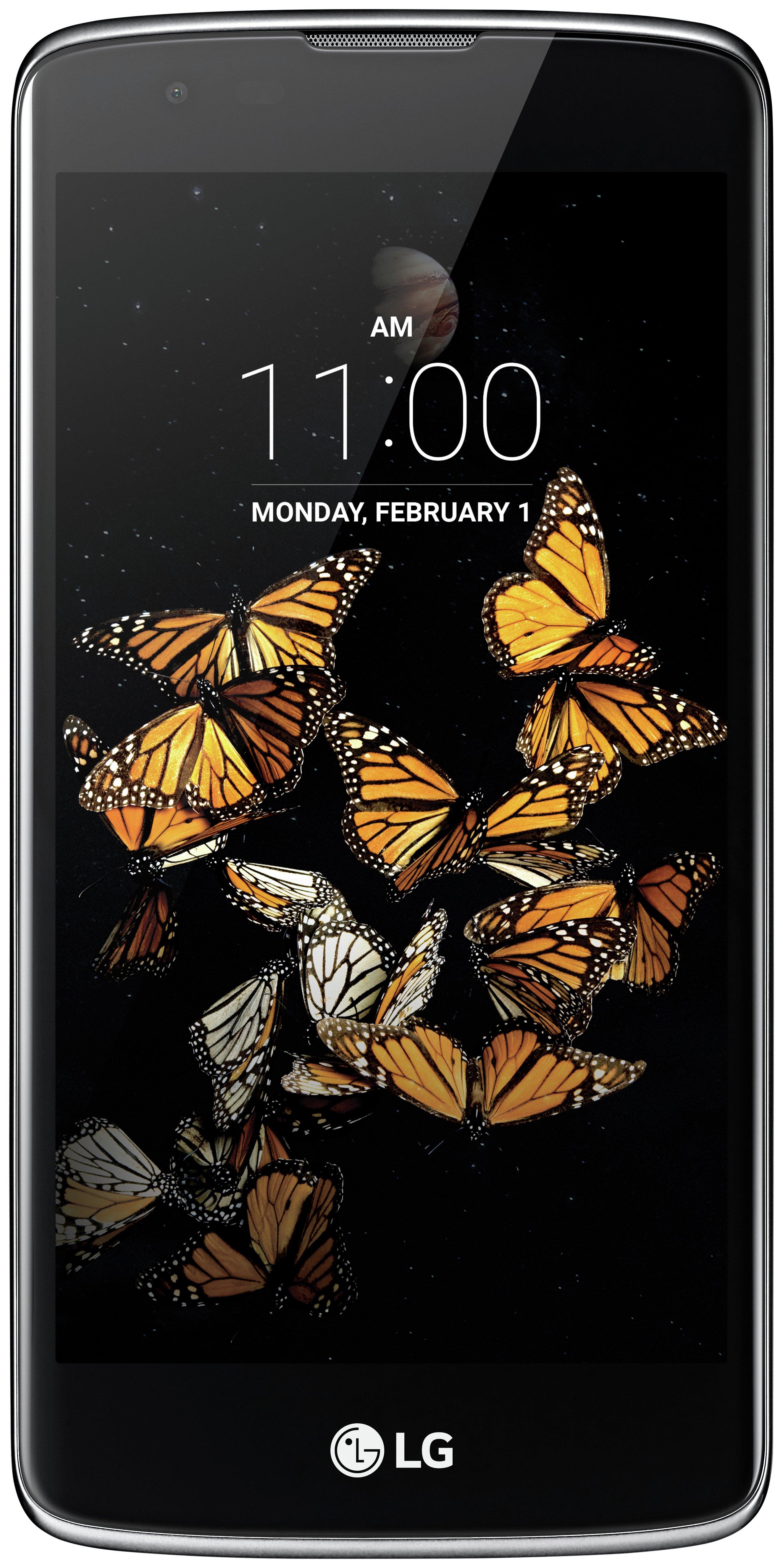 LG Sim Free LG K8 Mobile Phone - Black.