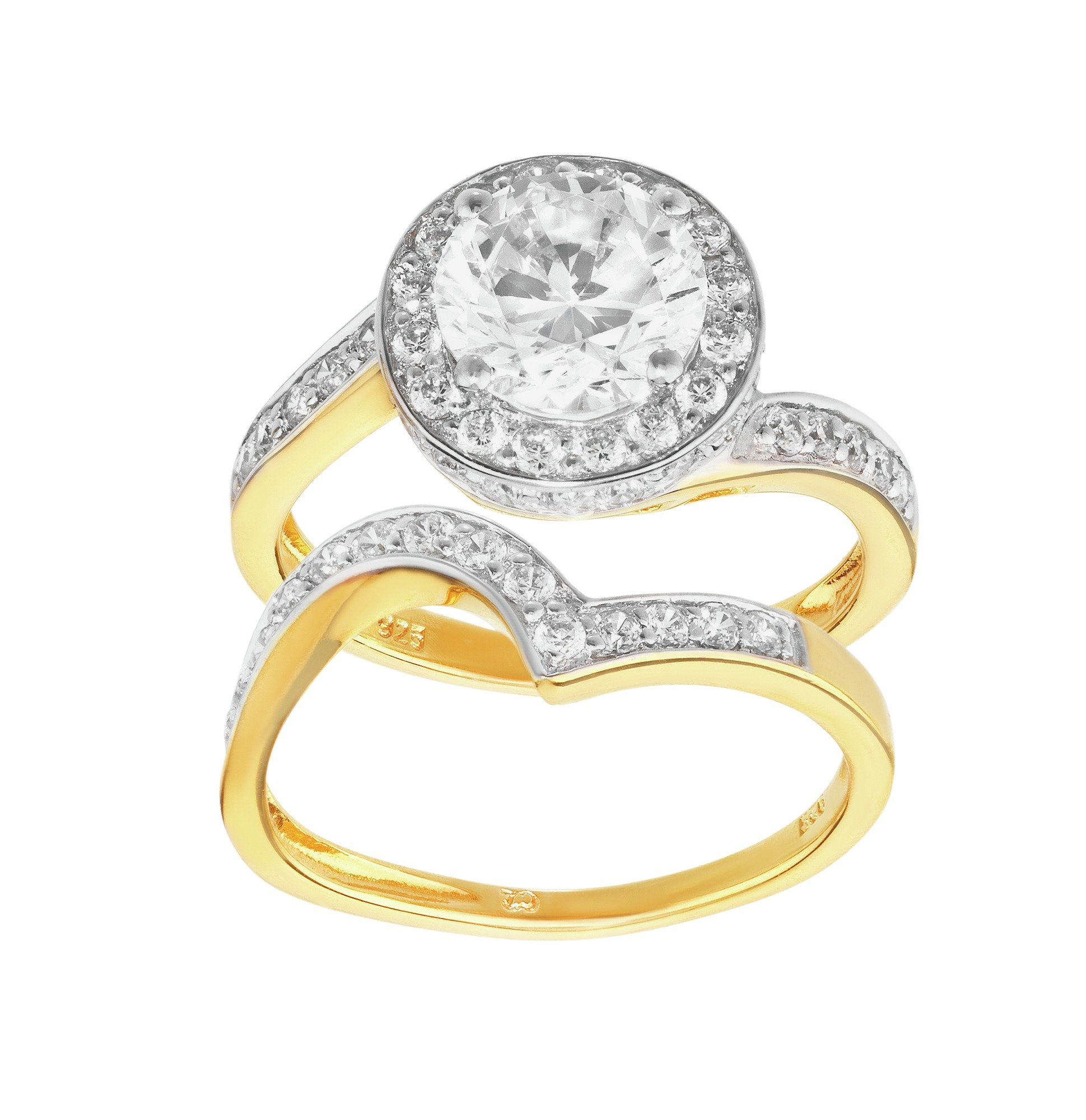 Brandcouture for Low cost wedding ring sets