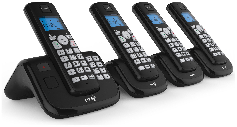 Image of BT - 3560 - Cordless Telephone & Answer Machine - Quad