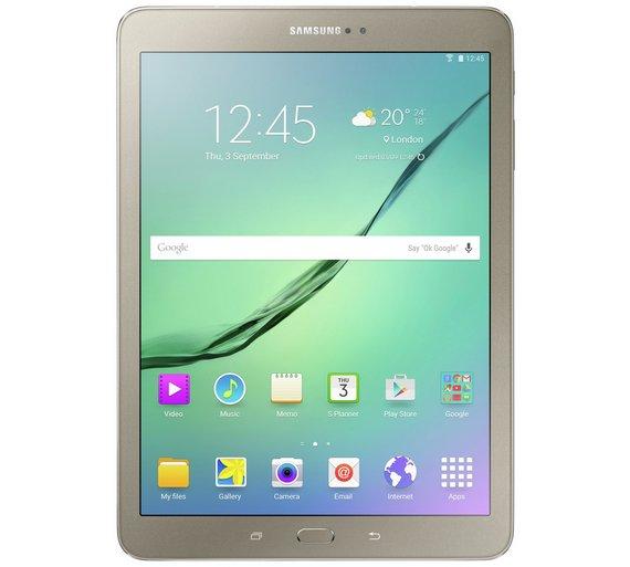 Buy Samsung Galaxy Tab S2 9.7 Inch 32GB Tablet - Gold  ac52f52fd7
