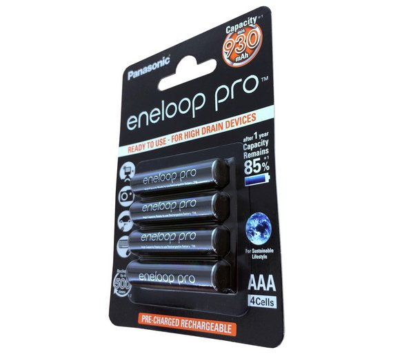buy eneloop pro 930 mah rechargeable aaa batteries 4. Black Bedroom Furniture Sets. Home Design Ideas