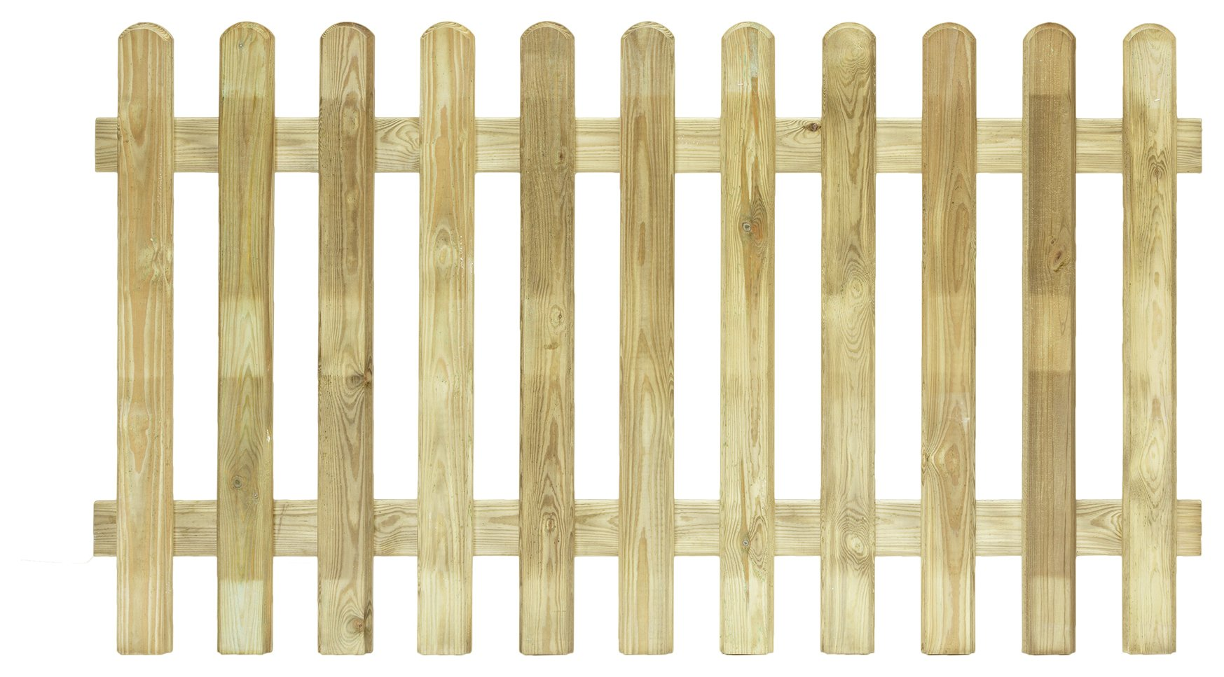Grange Fencing 1m Elite Profiled Picket Fence - Pack of 5. lowest price