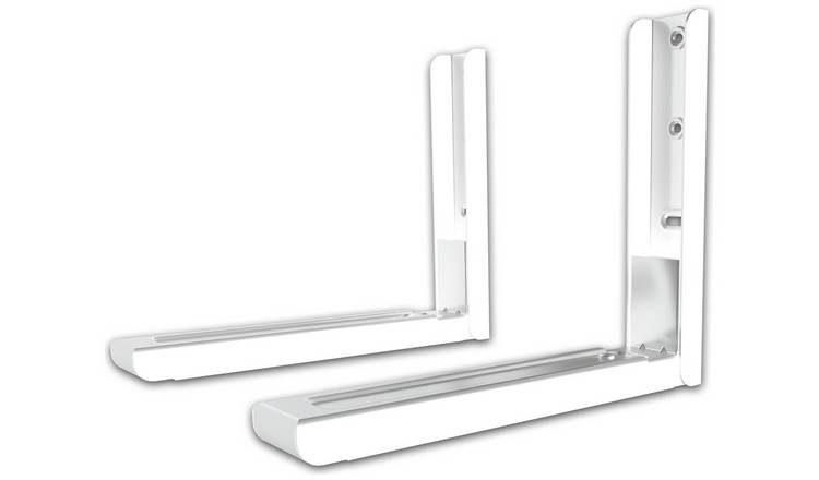 Universal Microwave Wall Bracket - White