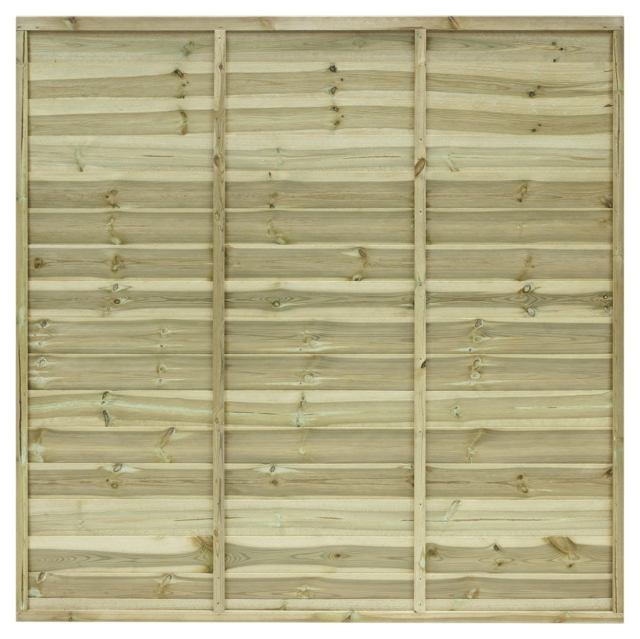 Grange Fencing 1.8m Ultimate Fence Panel - Pack of 3. lowest price