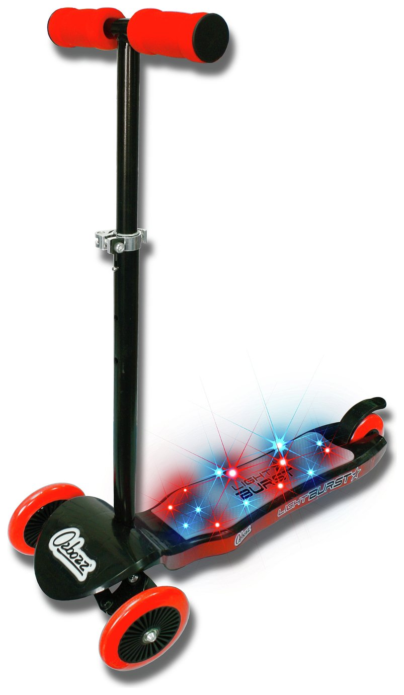 Ozbozz Light Burst - Black & Red