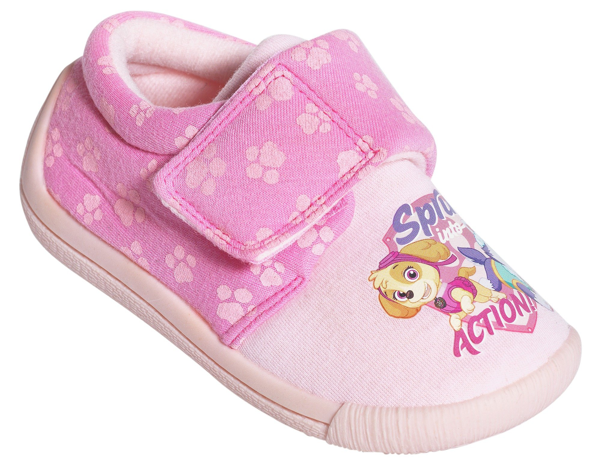 PAW Patrol Pink Slippers - Size 6