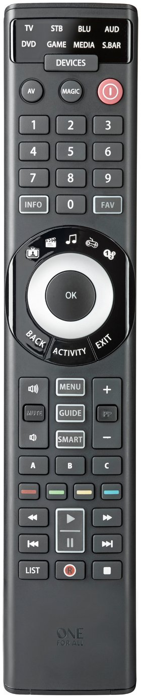 One For All 8 Way Universal Smart Remote Control