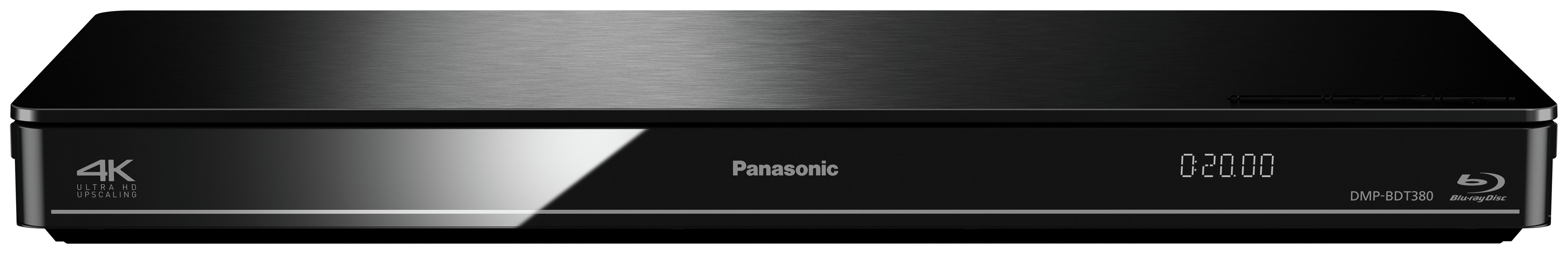 Image of Panasonic - BDT380 - Smart Blu-ray Player With 4K Upscaling.